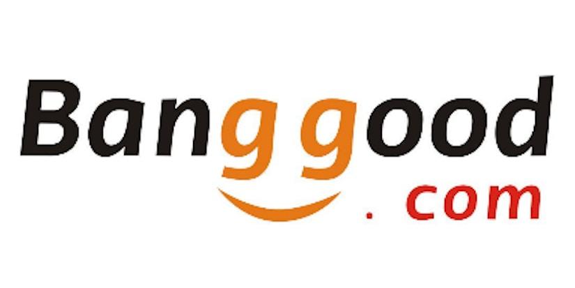 Banggood-Logo auf weißem Hingergrund
