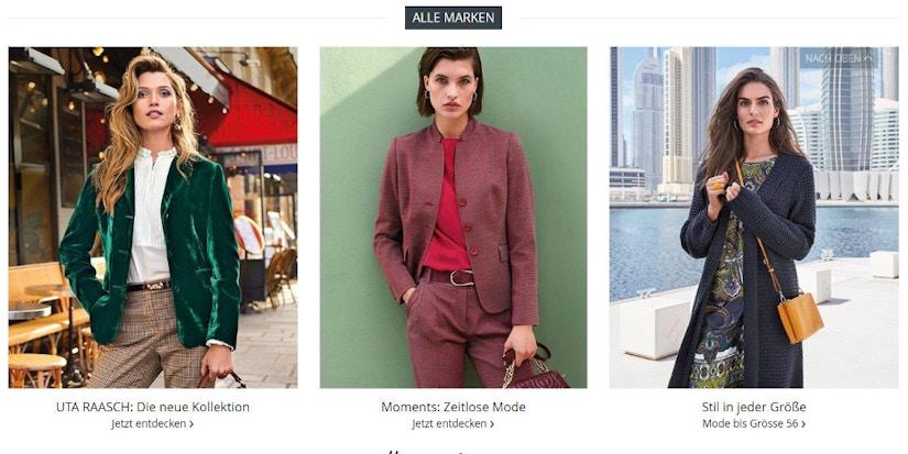 Screenshot Peter Hahn- drei Models