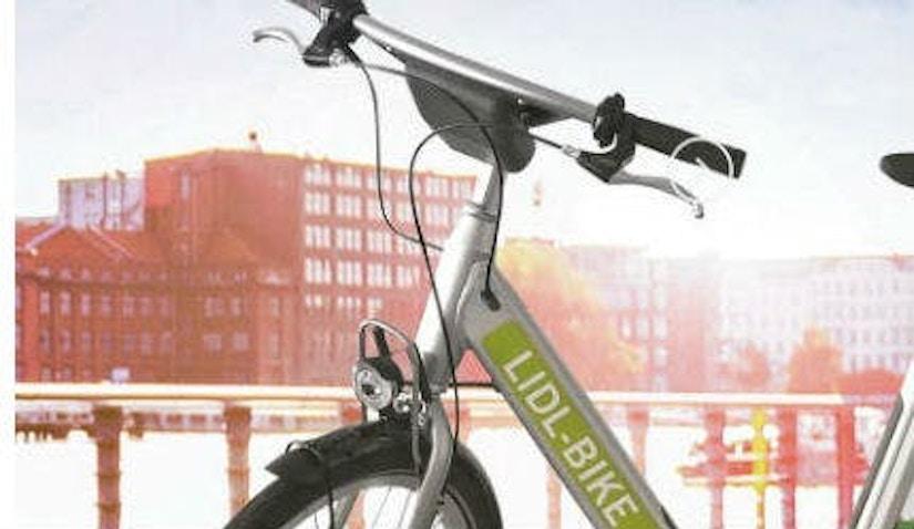 Mit Lidl Bike immer unterwegs