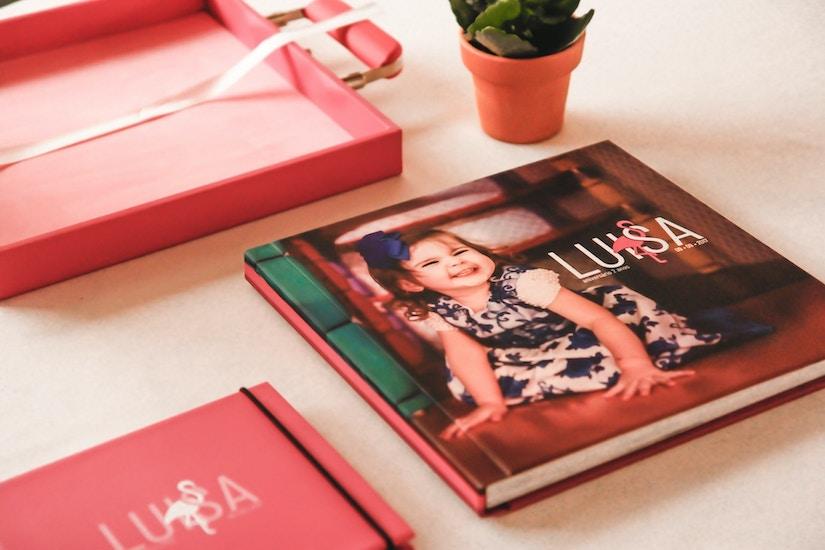 Fotobuch mit Kinderfotos