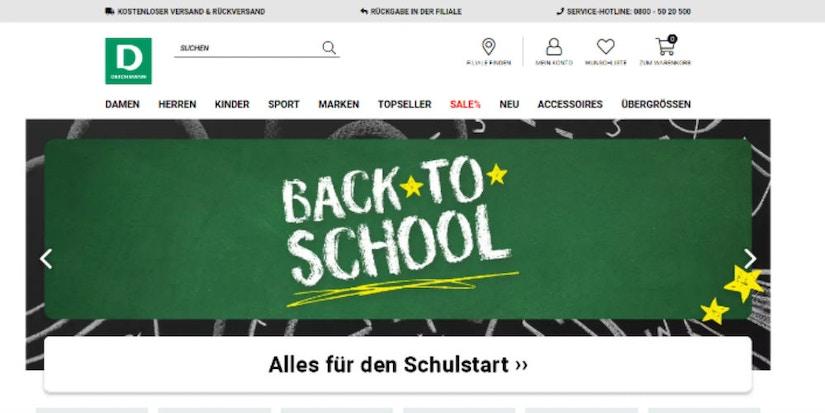 Back to School Deichmann-Screenshot