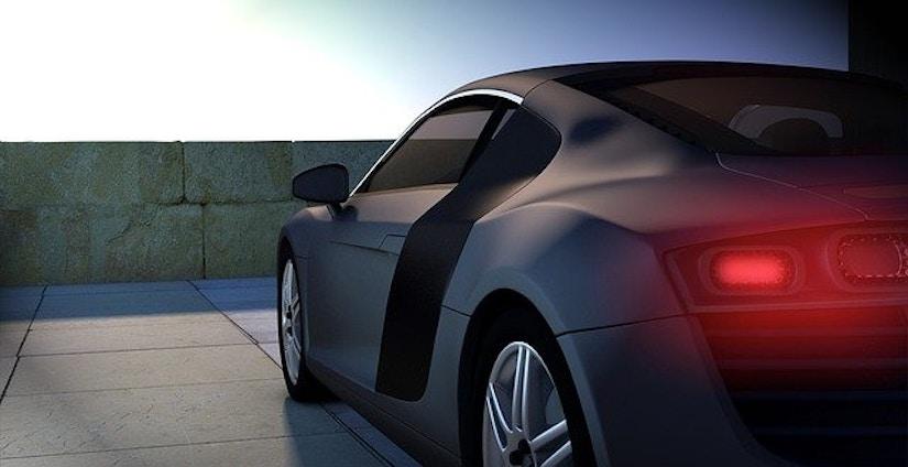 Audi r8 schwarz