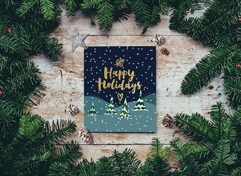 Weihnachts-Karte
