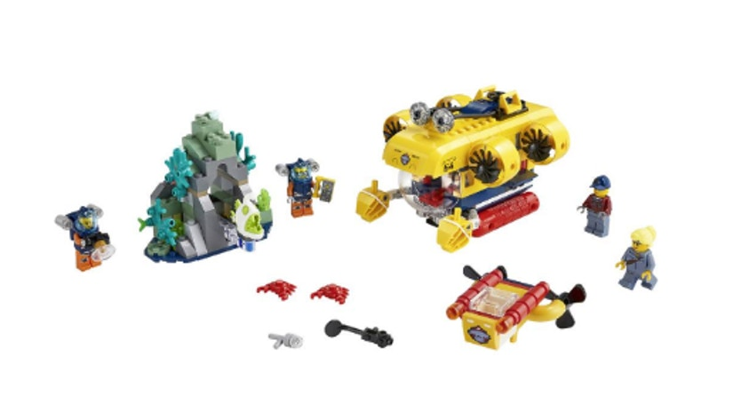 LEGO City Meeresforschungs-U-Boot
