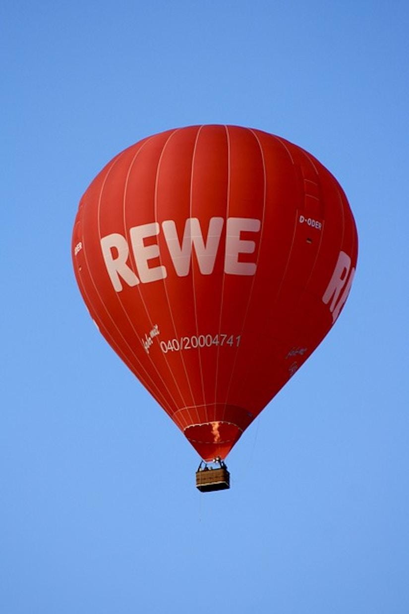 Heißluftballon Rewe