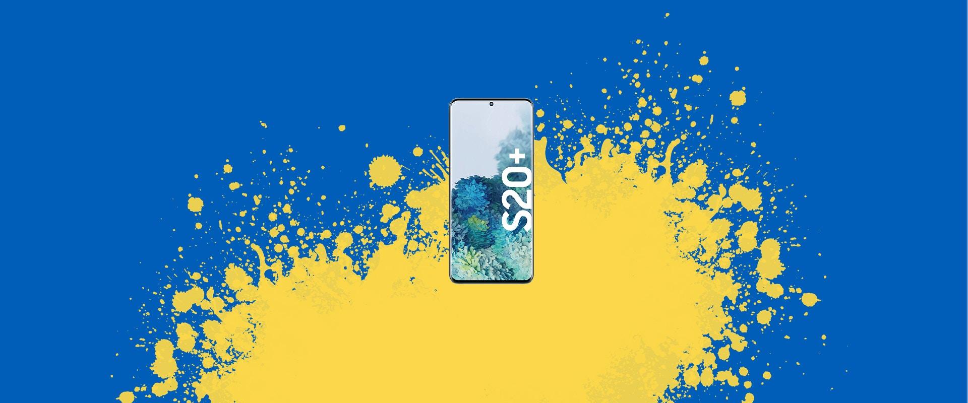 Ein Samsung Galaxy S20+