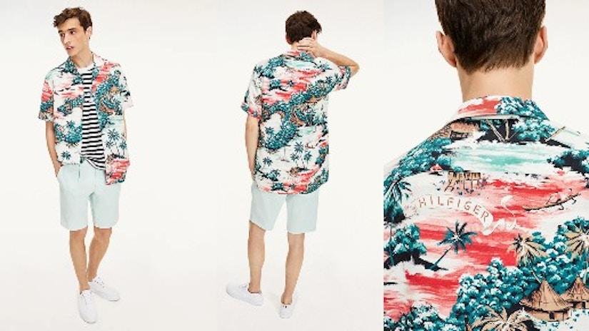 Kurzarm-Hemd von Tommy Hilfiger