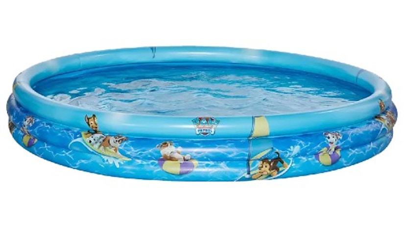 Ein HAPPY PEOPLE PAW 3-Ring-Pool auf weißem Hintergrund