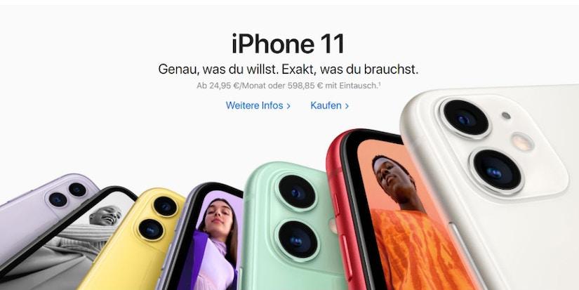 Screenshot Apple- iPhone11
